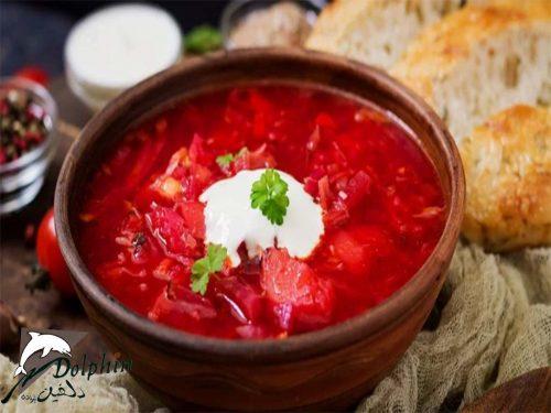 غذا های اوکراین